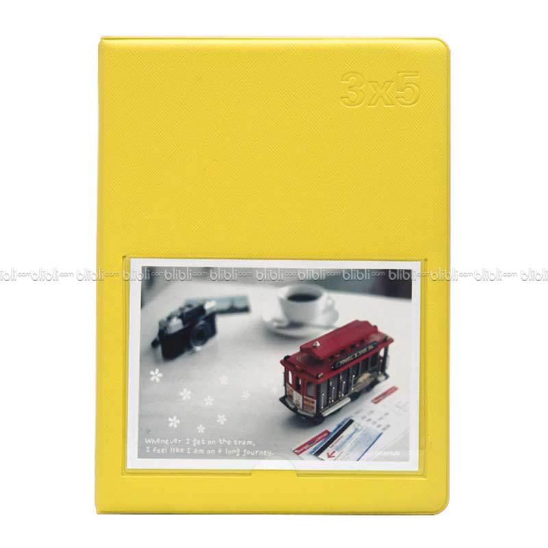 Polaroid Colorful Korea 3x5 (3R) Album Foto Kuning