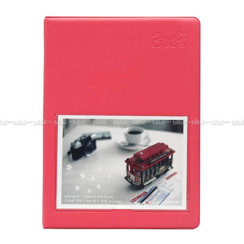 Polaroid Colorful Korea 3x5 (3R) Album Pink Tua