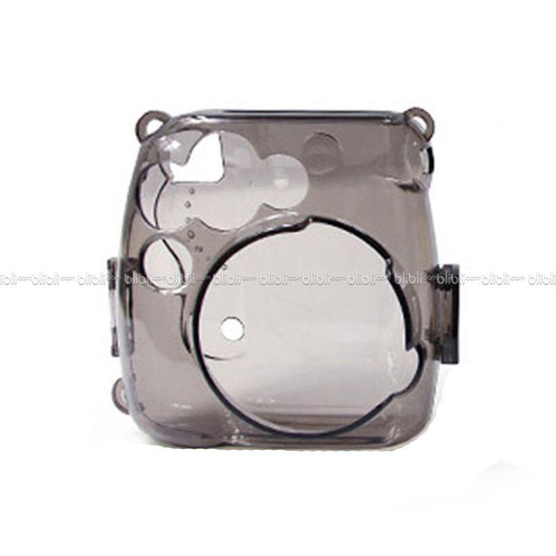 Kamera-Polaroid Hardcase Instax 8 Hitam Transparant