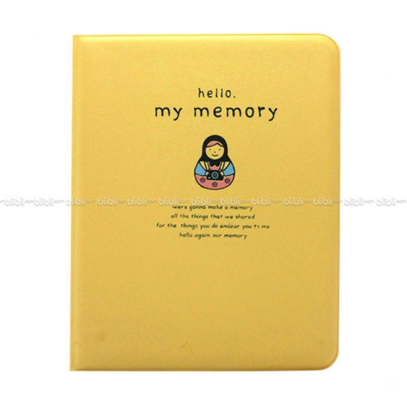 Kamera-Polaroid Hello My Memory Instax Mini Album Kuning