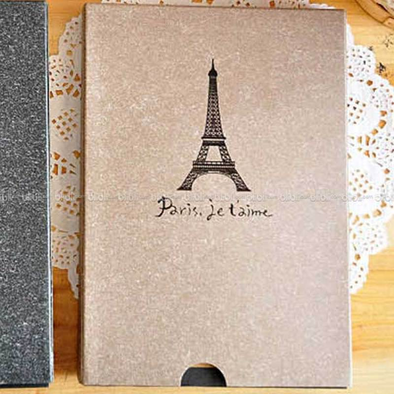 Kamera-Polaroid Scrap Book Paris Je t'aime Coklat