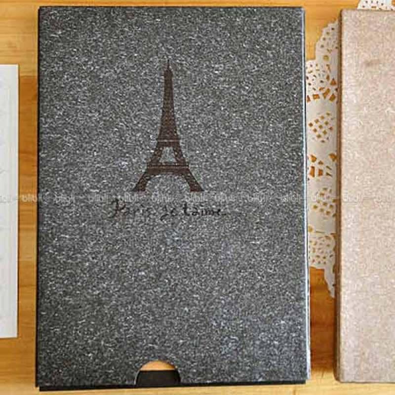 Kamera-Polaroid Scrap Book Paris Je t'aime Hitam