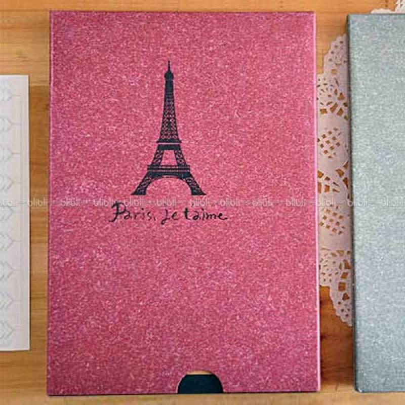 Kamera-Polaroid Scrap Book Paris Je t'aime Merah