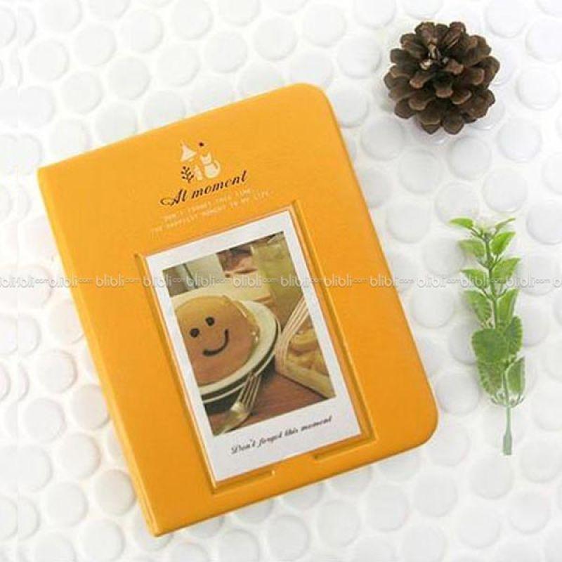 Kamera-Polaroid Smiley Cookies Album Kuning