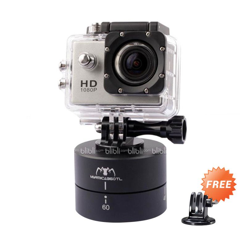 MYRMICA 360TL Time Lapse Pan and Tilt Head for GOPRO, BRICA B-PRO & Xiaomi Yi Camera + Tripod Mount