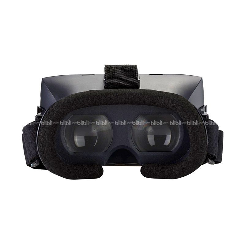Terios Ver.2 VR 3D Glass with Magnet Controller Hitam Google Cardboard
