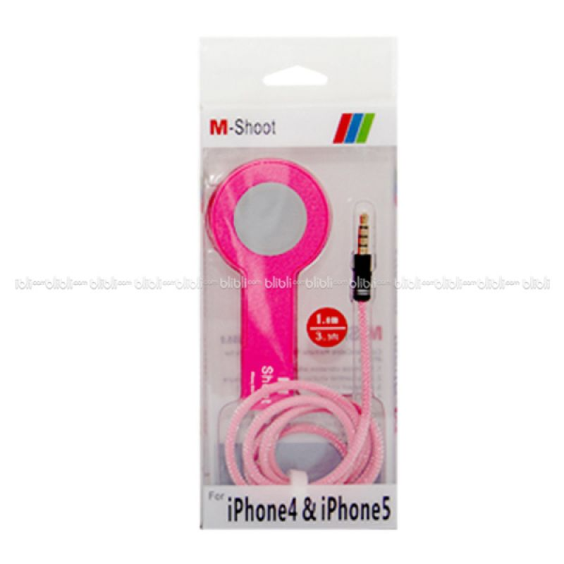 Tomsis Tombol Narsis for iPhone Pink