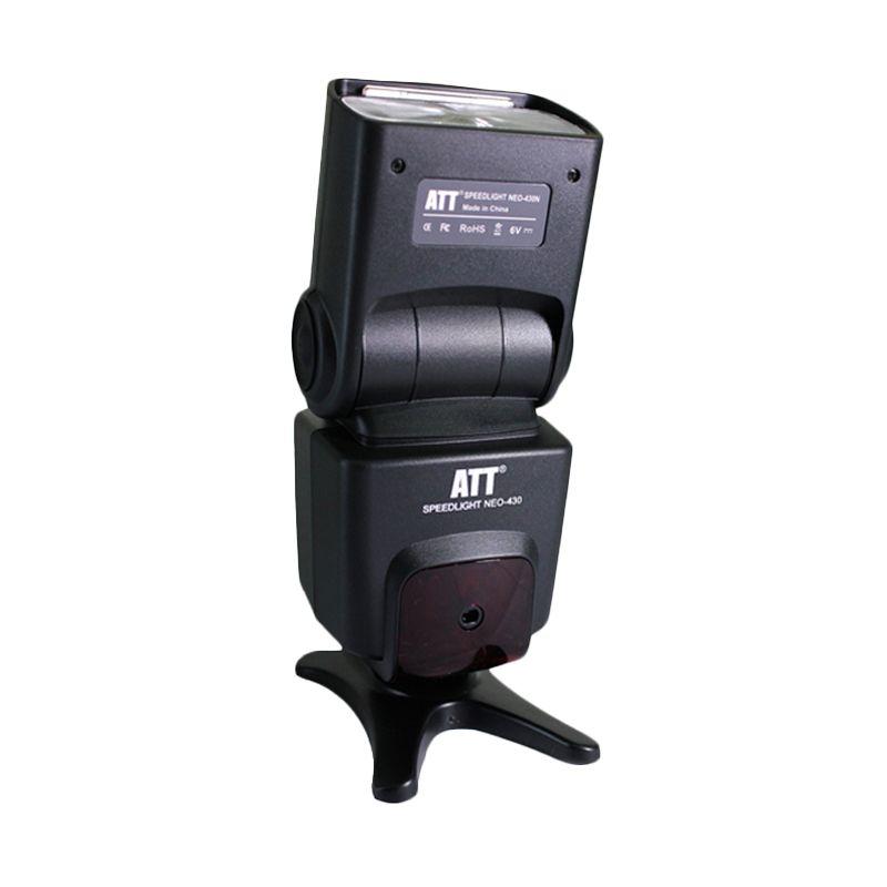 ATT Neo 430N Black Flash Kamera untuk Nikon