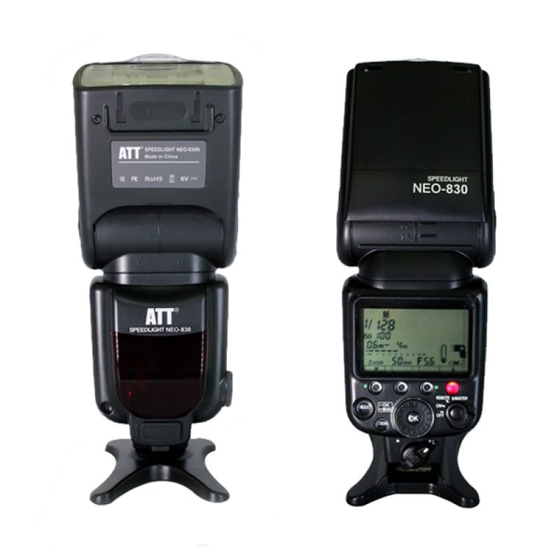 ATT NEO-830N Ultimate TTL Speedlite with HSS and Slave Flash Kamera