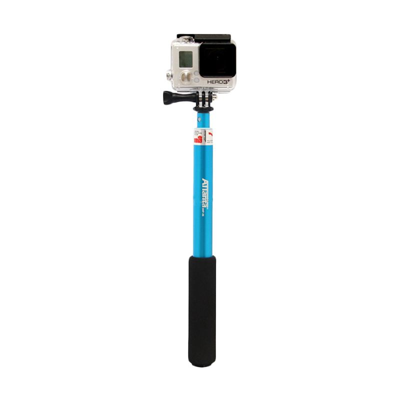 Attanta SMP 07 Blue Monopod for GoPro or Smartphone