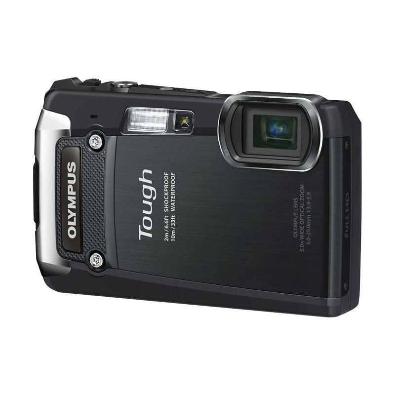 Olympus TG-820 iHS + Memory 8 GB Hitam Kamera Pocket
