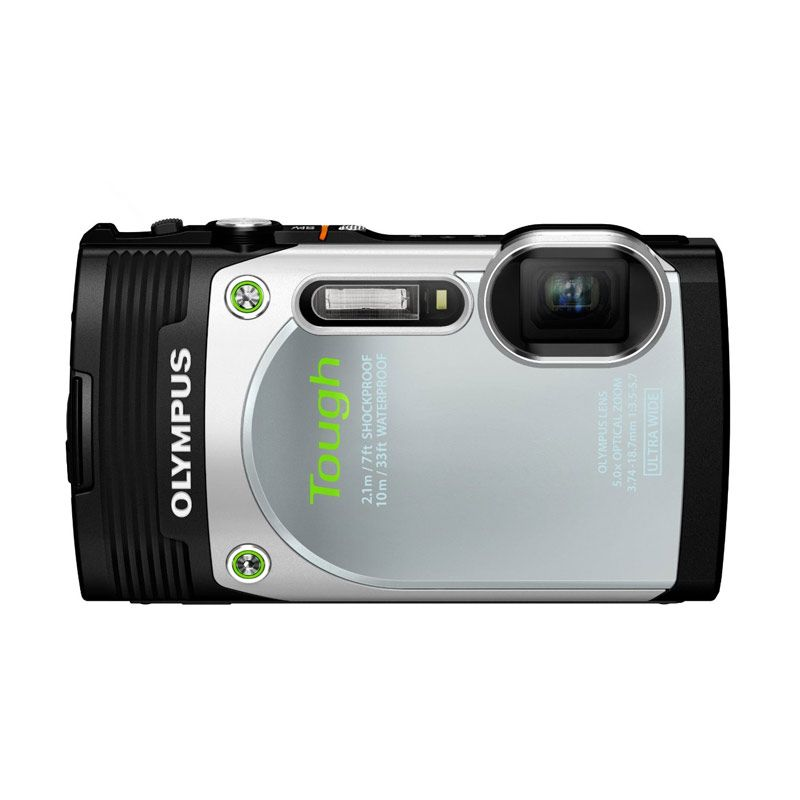 Olympus Stylus TG-850 iHS + Memory 8 GB Silver Kamera Pocket