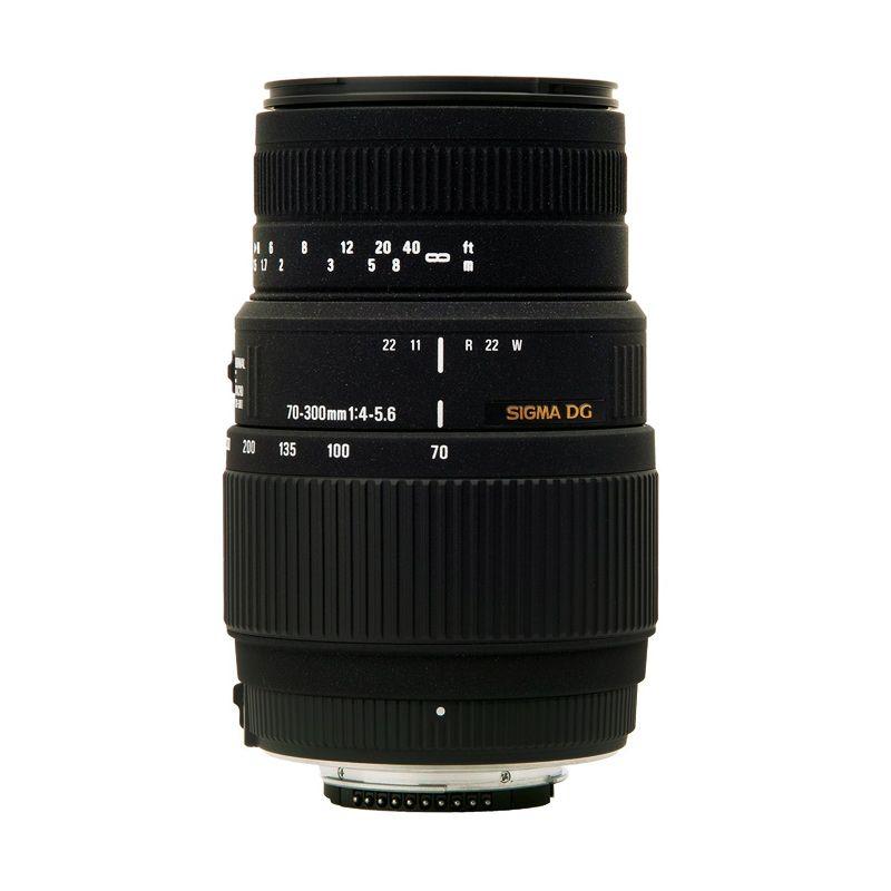 Sigma AF 70-300mm F/4-5.6 DG Macro Lensa Kamera for Nikon