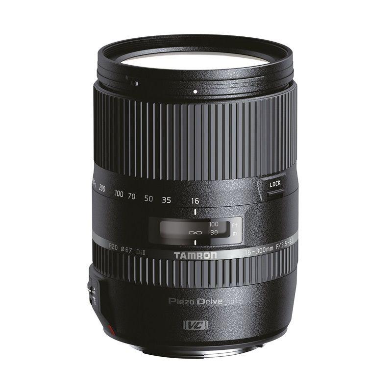 Tamron 16-300mm F/3.5-6.3 Di II VC PZD Macro Lensa Kamera For Nikon