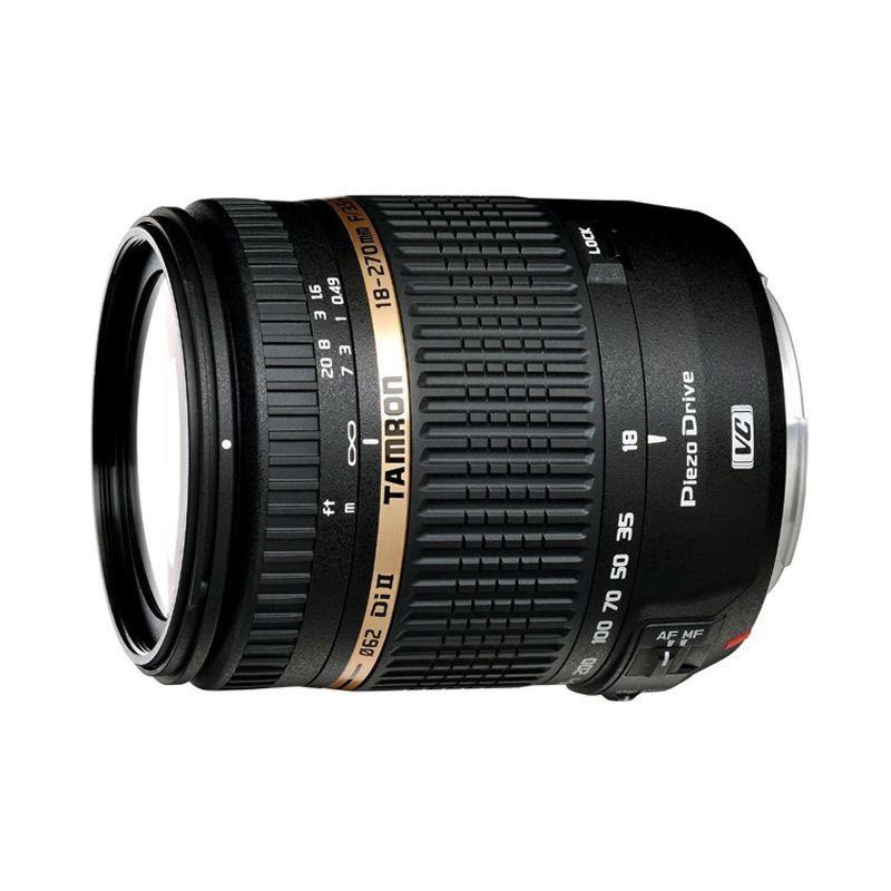 Tamron 18-270mm F/3.5-6.3 Di II VC PZD Lensa Kamera For Canon