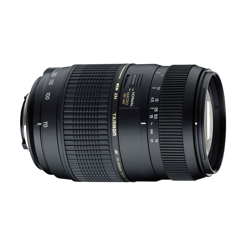 TAMRON AF 70-300mm F/4-5.6 Di LD MACRO 1:2 Model: A17E for CANON with Lens Hood (Garansi Resmi Tamron - Ana Photo 2 tahun)