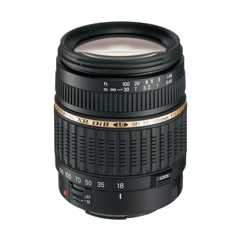 Tamron AF 18-200mm F/3.5-6.3 XR Di II LD Lensa Kamera for Canon