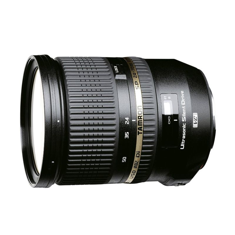 Tamron SP 24-70mm F/2.8 Di VC USD Lensa Kamera For Nikon