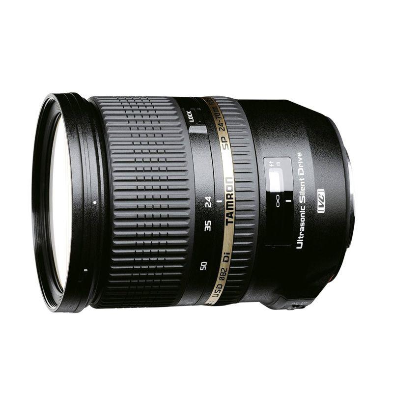 Tamron SP 24-70mm F/2.8 Di VC USD Lensa Kamera For Canon