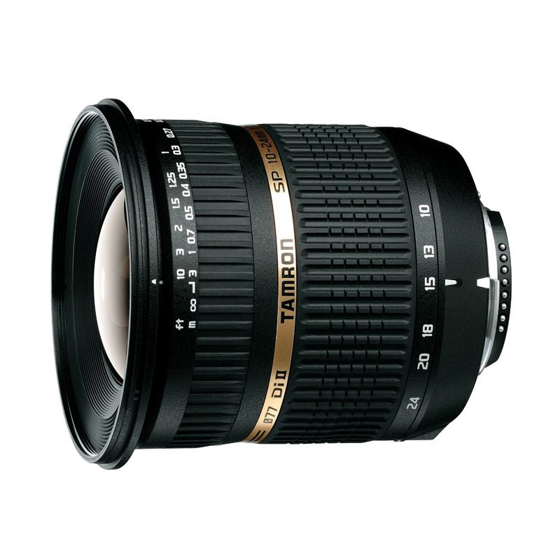Tamron SP AF 10-24mm F/3.5-4.5 Di II LD Aspherical (IF) Lensa Kamera For Nikon