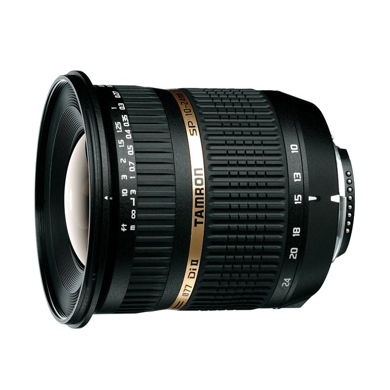Tamron SP AF 10-24mm F/3.5-4.5 Di II LD Aspherical (IF) Lensa Kamera For Canon