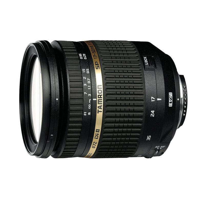 Tamron SP AF 17-50mm F/2.8 XR Di II VC LD Aspherical (IF) Lensa Kamera For Canon