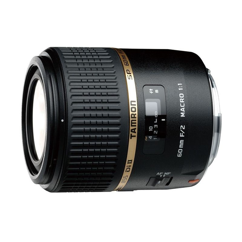Tamron SP AF 60mm F/2 Di II LD IF Macro Lensa Kamera For Nikon