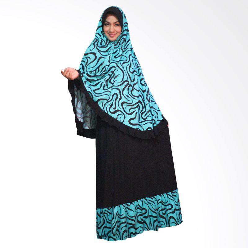 Kampung Souvenir Gamis Benazir Syar'i Turquoise Dress Muslim