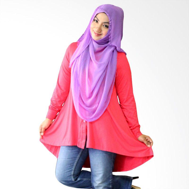 Kampung Souvenir Tuxedo Pink Atasan Wanita