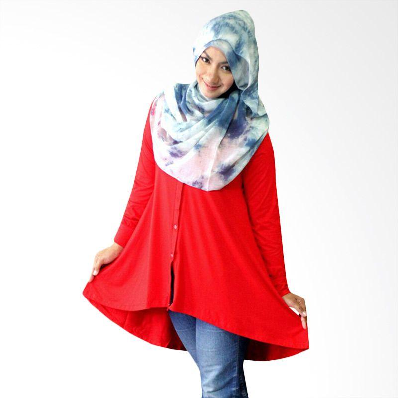 Kampung Souvenir Tuxedo Red Atasan Wanita