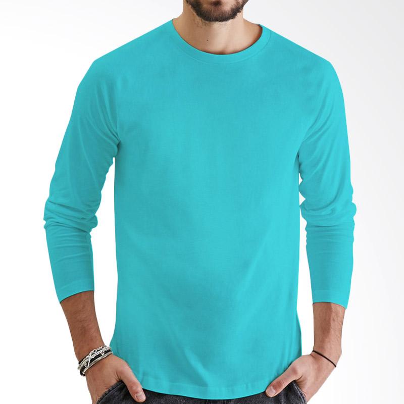 KaosYES Kaos Polos T-Shirt O-Neck Lengan Panjang - Biru Muda Extra diskon 7% setiap hari Extra diskon 5% setiap hari Citibank – lebih hemat 10%
