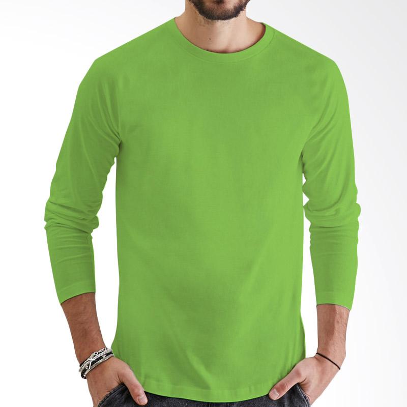 KaosYES Kaos Polos T-Shirt O-Neck Lengan Panjang - Hijau Muda Extra diskon 7% setiap hari Extra diskon 5% setiap hari Citibank – lebih hemat 10%