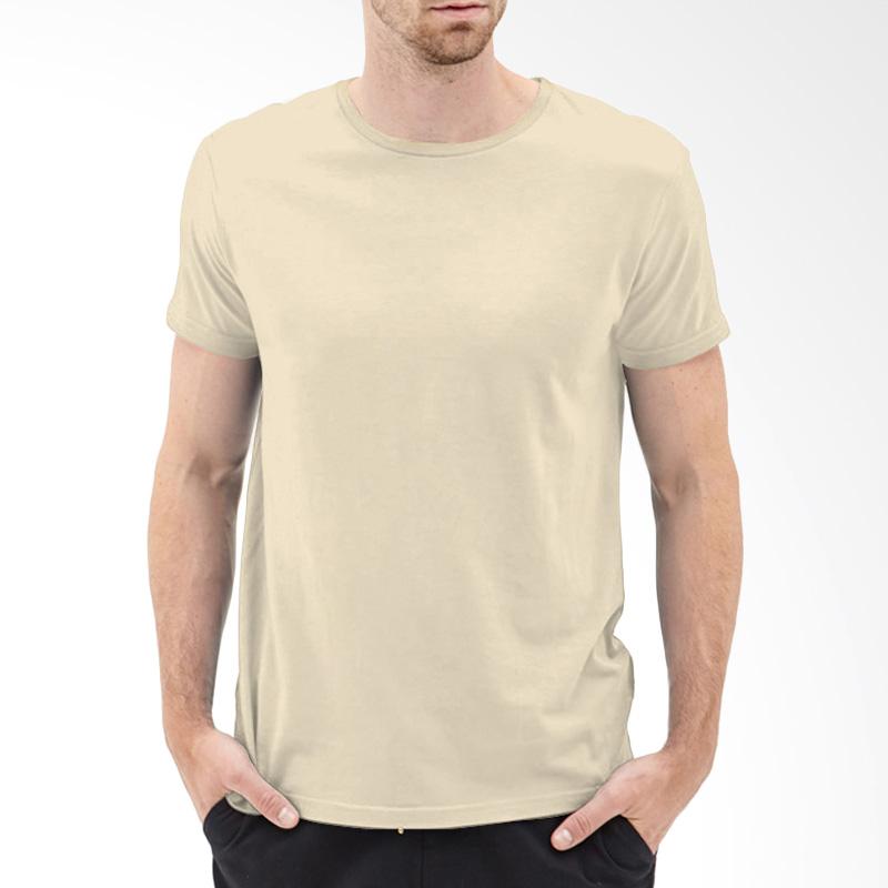 KaosYES Kaos T-Shirt Polos O-Neck Lengan Pendek - Cream Extra diskon 7% setiap hari Extra diskon 5% setiap hari Citibank – lebih hemat 10%