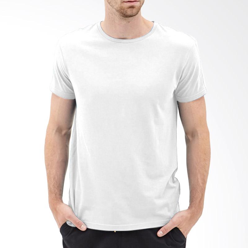 KaosYES Kaos T-Shirt Polos O-Neck Lengan Pendek - Putih Extra diskon 7% setiap hari Extra diskon 5% setiap hari Citibank – lebih hemat 10%