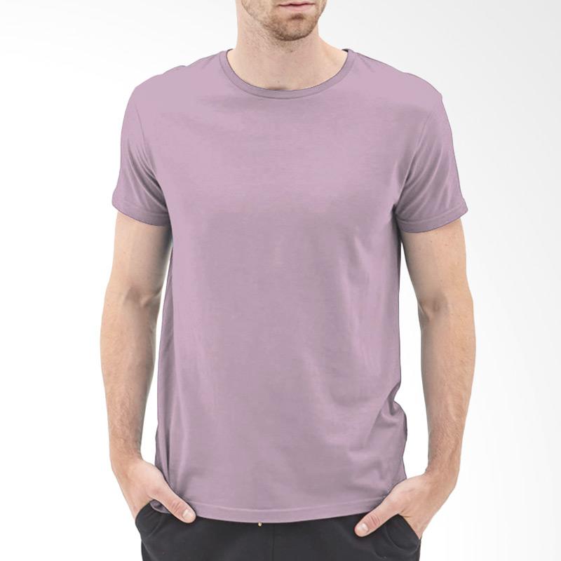 KaosYES Kaos T-Shirt Polos O-Neck Lengan Pendek - Ungu Muda Extra diskon 7% setiap hari Extra diskon 5% setiap hari Citibank – lebih hemat 10%