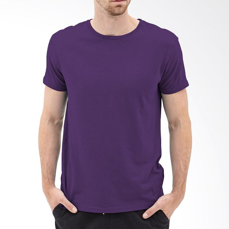 KaosYES Kaos T-Shirt Polos O-Neck Lengan Pendek - Ungu Tua Extra diskon 7% setiap hari Extra diskon 5% setiap hari Citibank – lebih hemat 10%