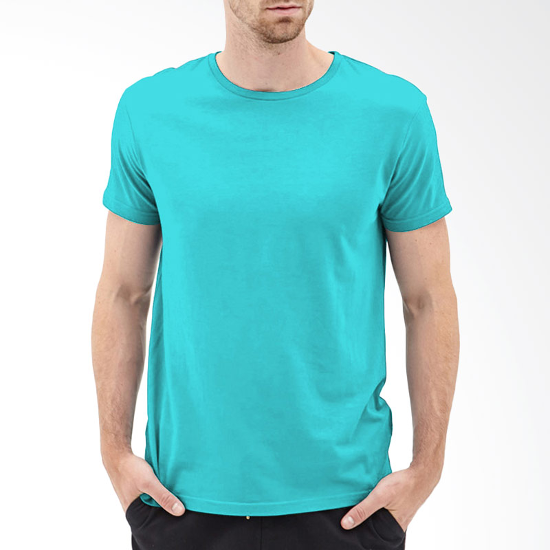 KaosYES T-Shirt Polos O-Neck Lengan Pendek - Biru Muda Extra diskon 7% setiap hari Extra diskon 5% setiap hari Citibank – lebih hemat 10%