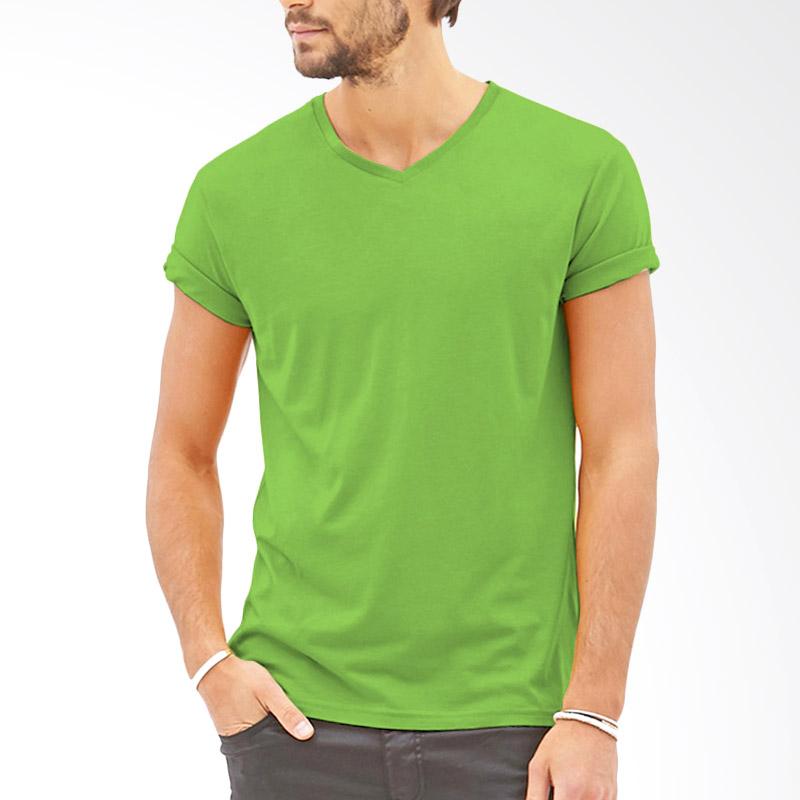 KaosYES V-Neck T-Shirt - Hijau Muda Extra diskon 7% setiap hari Extra diskon 5% setiap hari Citibank – lebih hemat 10%