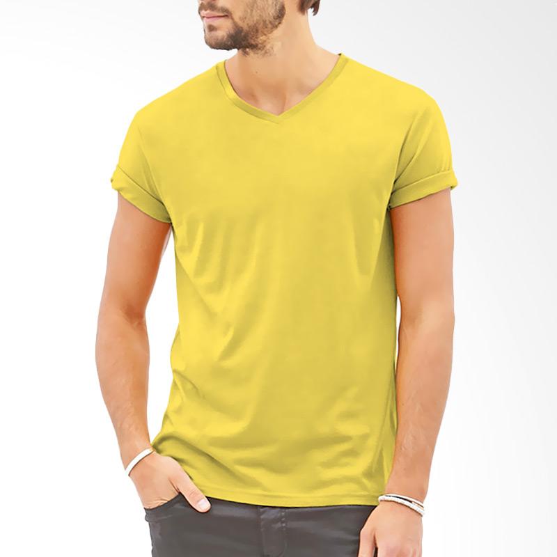 KaosYES V-Neck T-Shirt - Kuning Extra diskon 7% setiap hari Extra diskon 5% setiap hari Citibank – lebih hemat 10%