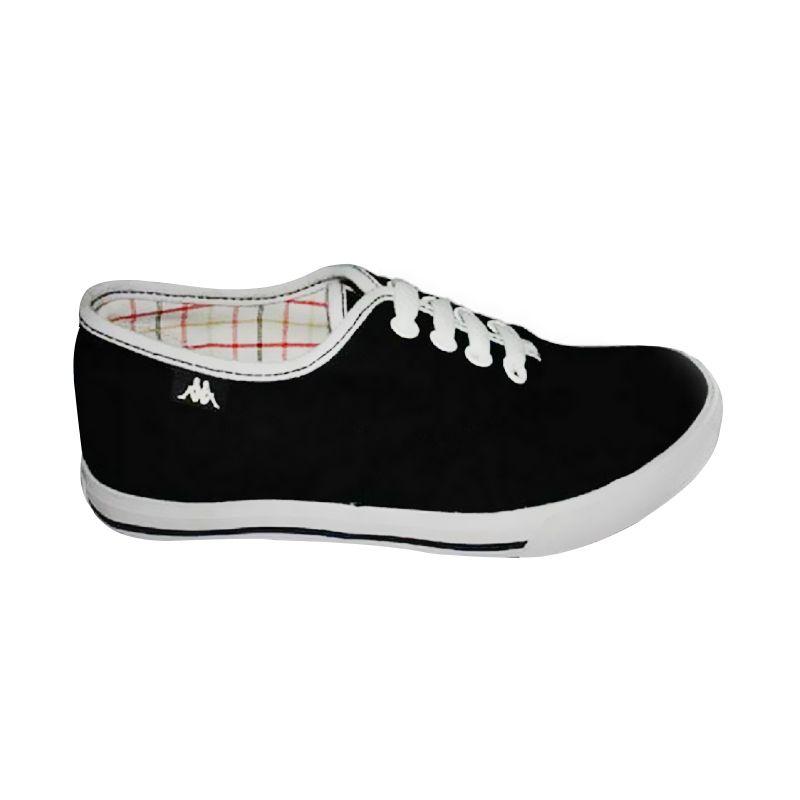 Kappa Ladies Lace K12DFC068 Black Sepatu Casual
