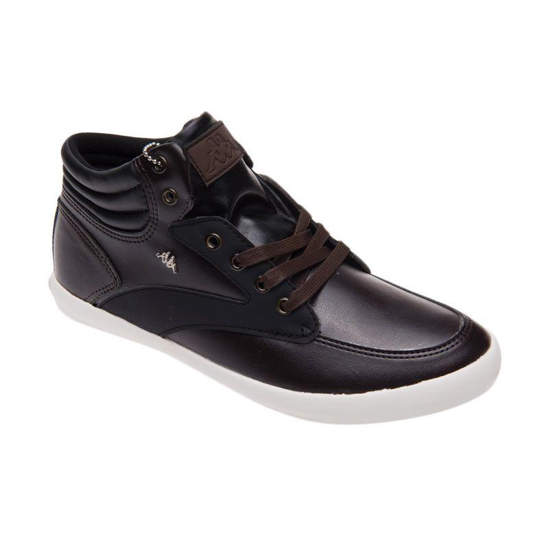 Kappa LB 1 KE3FL073 Brown Black Sepatu Pria