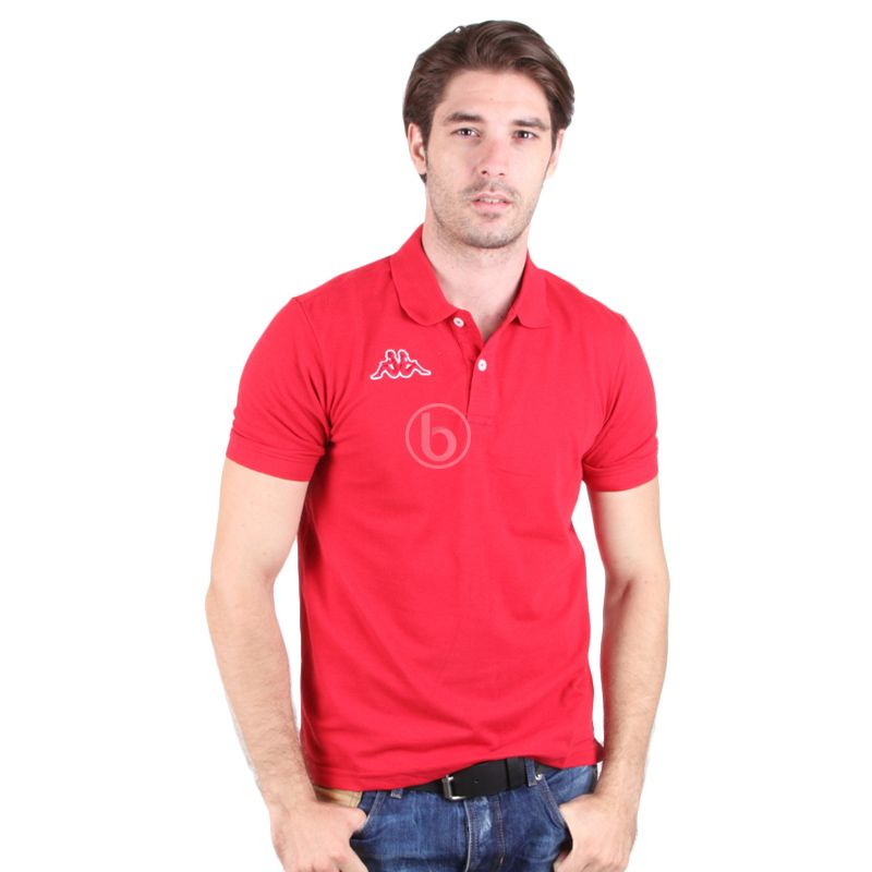 Kappa Men's Red Polo Shirt
