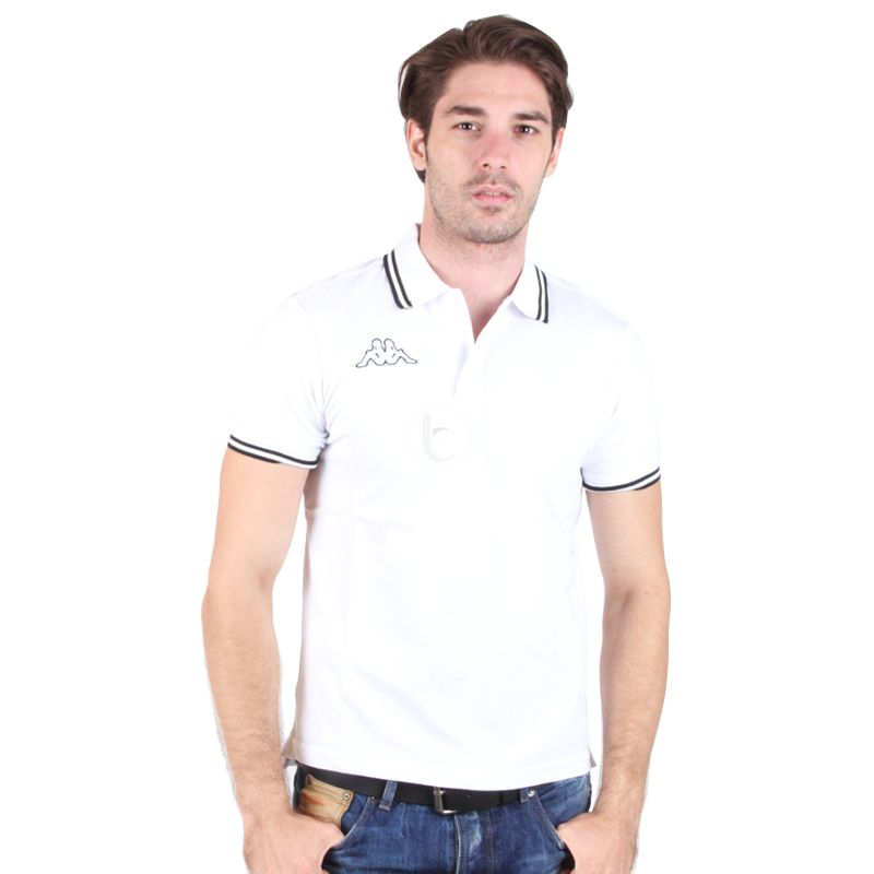 Kappa Men's White Polo Shirt