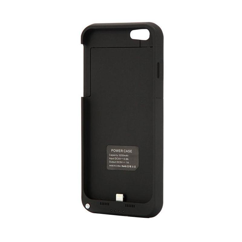 I-One Power Hitam Casing for iPhone 6