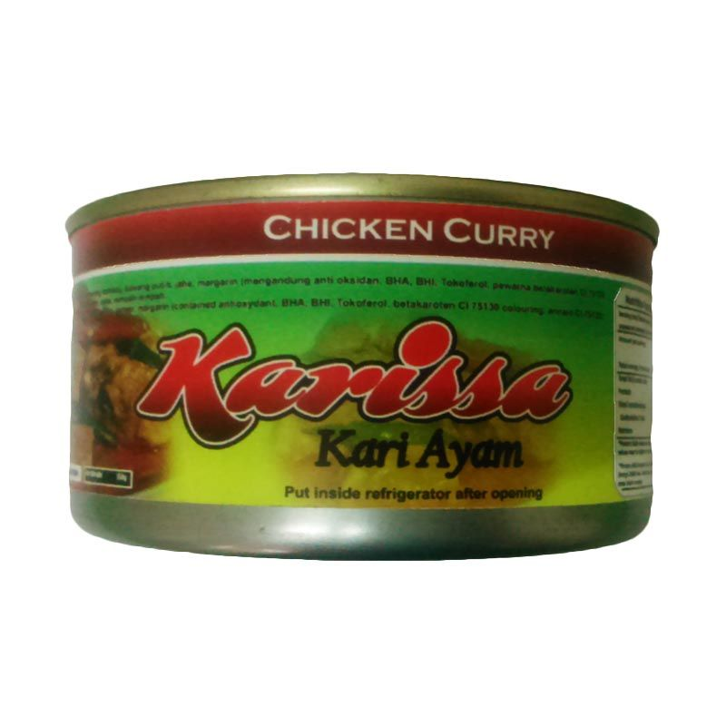 Karissa Kari Ayam Makanan Kaleng [150 gr]