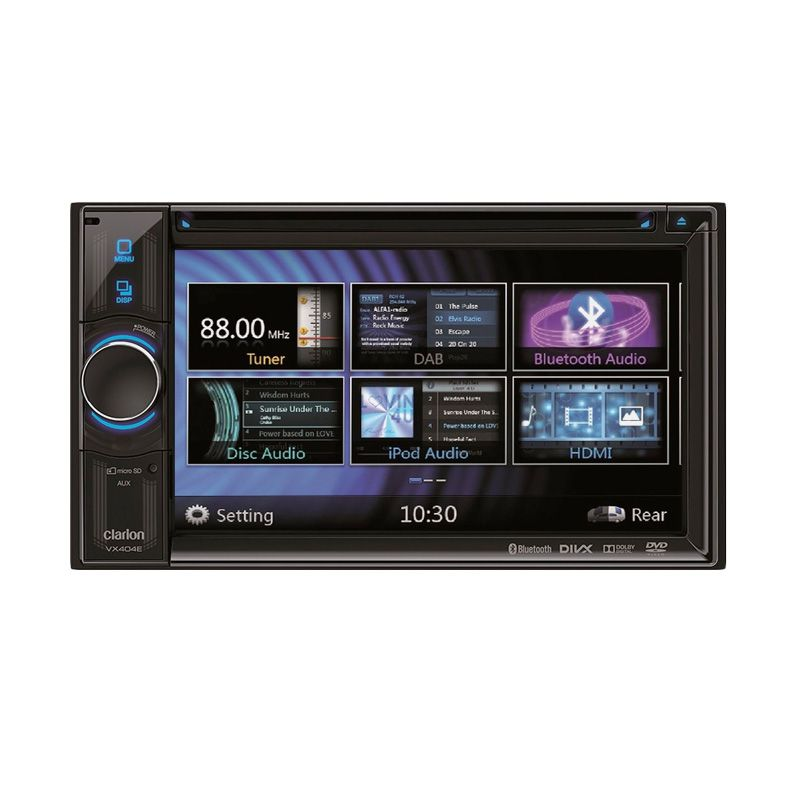Clarion VX 404 Miror Link Head Unit Audio Mobil