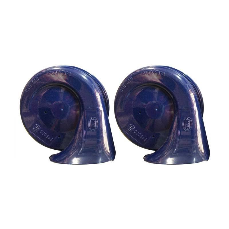 Hella Blue Twin Tone Horn Set