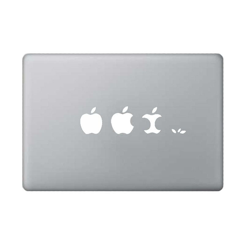 KATZE decal Apple White