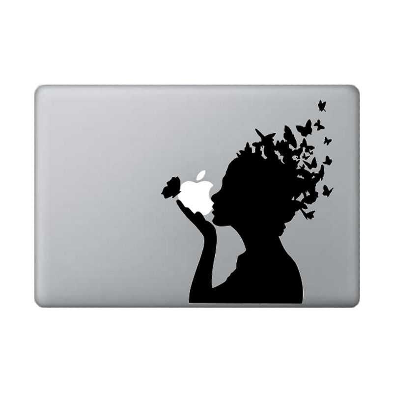 KATZE decal Butterfly Black