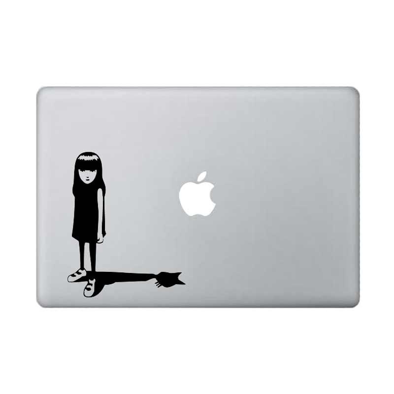 harga KATZEdecal Emily The Strange Sticker Laptop - Black Blibli.com